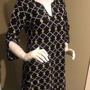 Jude Connally Dresses - Jude Connally Sz M geometric caftan dress